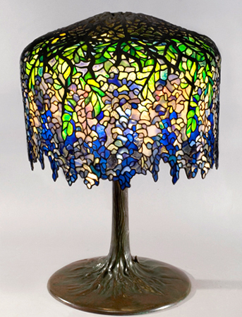 tiffany studios lamps tiffany favrile glass collectics antiques. Black Bedroom Furniture Sets. Home Design Ideas