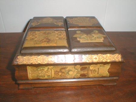 Decoupage Wood Decoupage Wood Jewelry Box